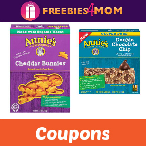Coupons: Save on Annie's Snacks