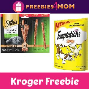 Free Cat Treats at Kroger