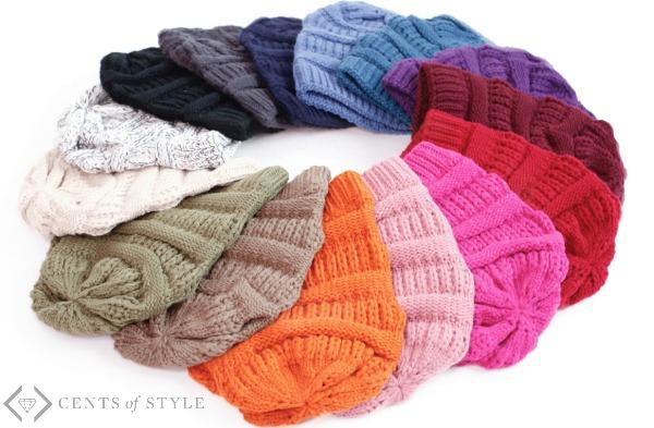 Slouchy Knit Beanie $10.95