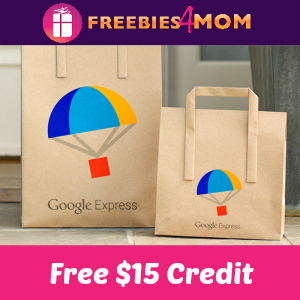 Free $15 Credit to Google Express