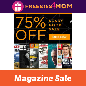 Scary Good Halloween Magazine Sale