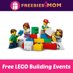 Free LEGO Building Events at Toys R Us