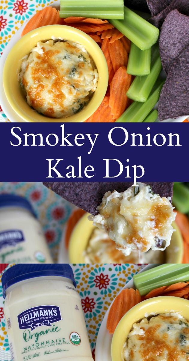 Endzone Eats: Hellmann's Smokey Onion Kale Dip