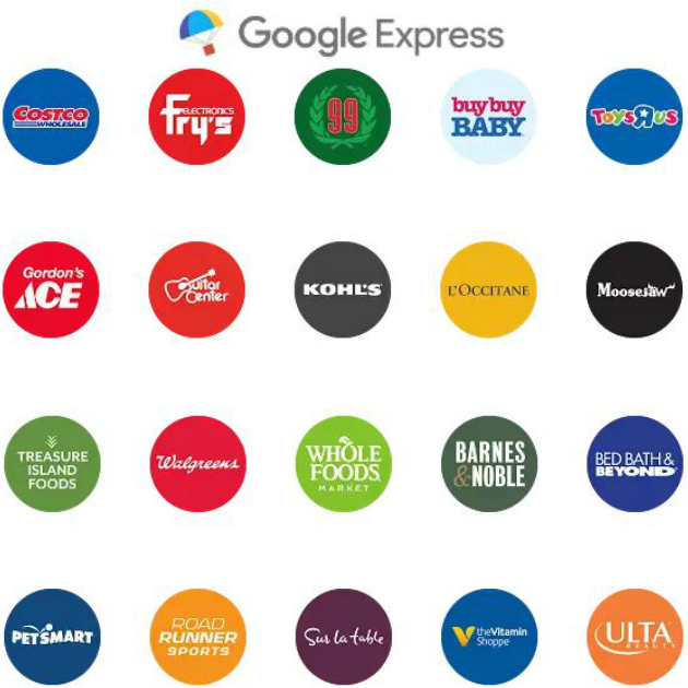Google Express stores in Texas