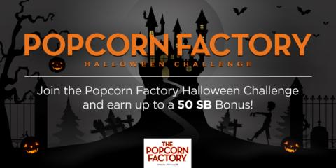Join the Swagbucks Popcorn Factory Team Challenge