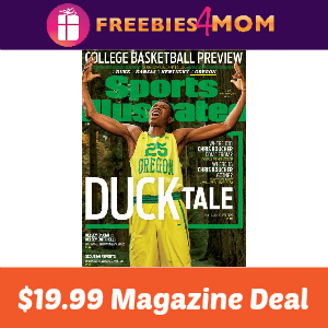 Magazine Deal: Sports Illustrated $19.99
