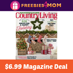 Magazine Deal: Country Living $6.99