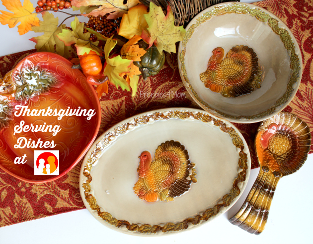 Thanksgiving Serving Dishes from Family Dollar