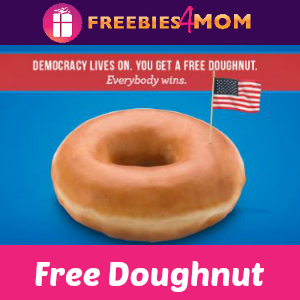 Free Doughnut at Krispy Kreme on Nov. 8