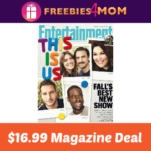 Magazine Deal: Entertainment Weekly $16.99