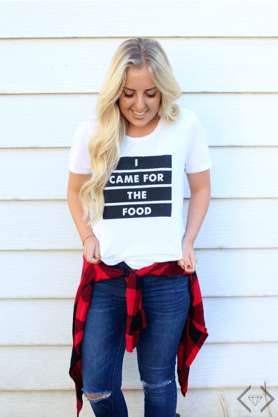 Delicious Food Tees $16.95 (Save 43%)