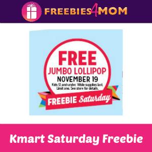 Free Jumbo Lollipop at Kmart