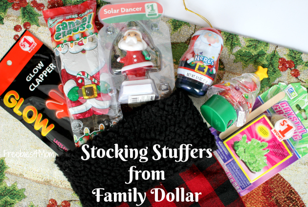 Christmas Stocking Stuffers from Family Dollar