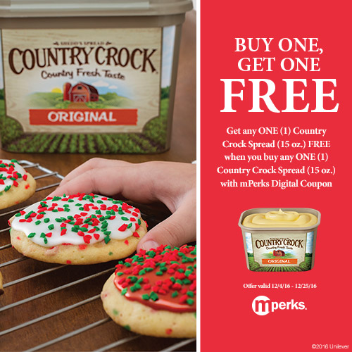 Buy One Country Crock Spread, Get One Free at Meijer