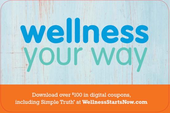 Wellness Your Way: Digital Kroger Coupons