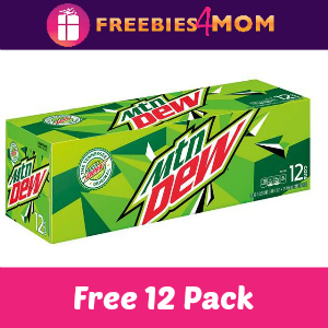 Free 12 Pack Mountain Dew at Kroger