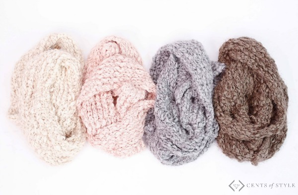 50% Off Wraps & Scarves (Starting Under $5!)