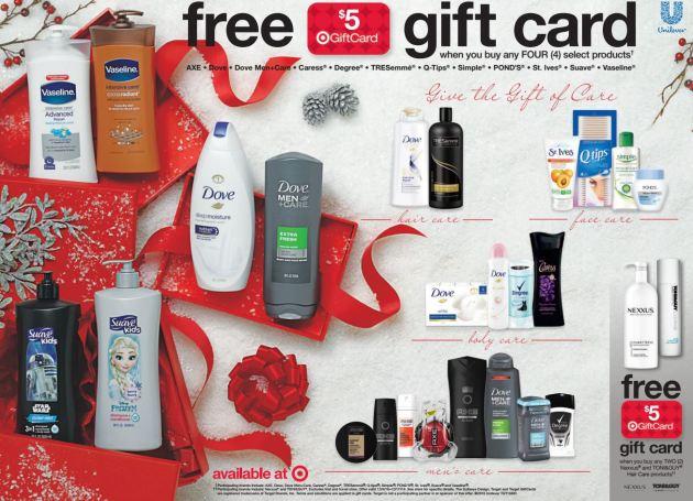 Target Sunday Flash Sale: Buy 4 TRESemmé, Get $5 Target Gift Card