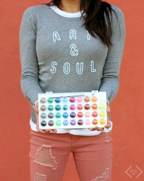 Art & Soul Embroidered Sweater $21.95