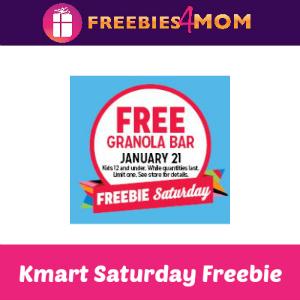 Free Granola Bar at Kmart