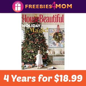 Magazine Deal: House Beautiful 4 Years $18.99