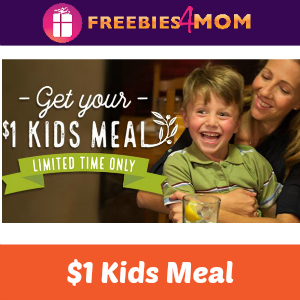 $1 Kids Meal at Olive Garden