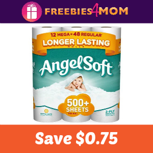Coupon: $0.75 off one Angel Soft