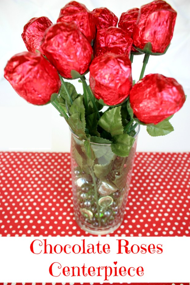 Chocolate Roses Centerpiece from Family Dollar