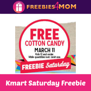 afe33f713a Free Cotton Candy at Kmart Mar. 11