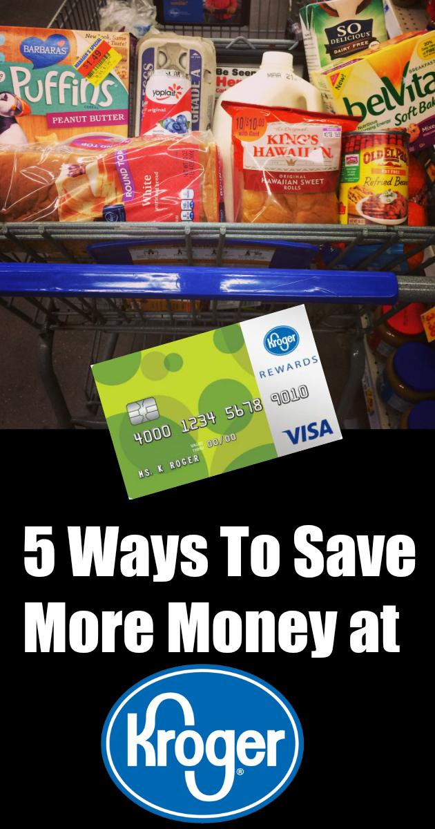 5 Ways To Save More Money at Kroger