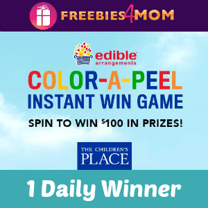 Sweeps Color-A-Peel (Win $100 in Gift Cards)