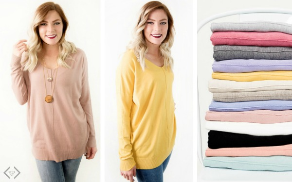 Spring Sweater & Scarf Starting Under $17