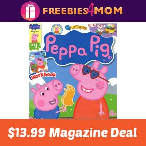 Magazine Deal: Peppa Pig $13.99