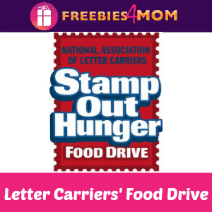 Stamp Out Hunger Food Drive May 11