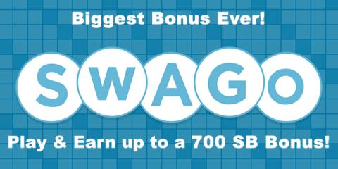 Earn 700 SB Bonus from April Swago