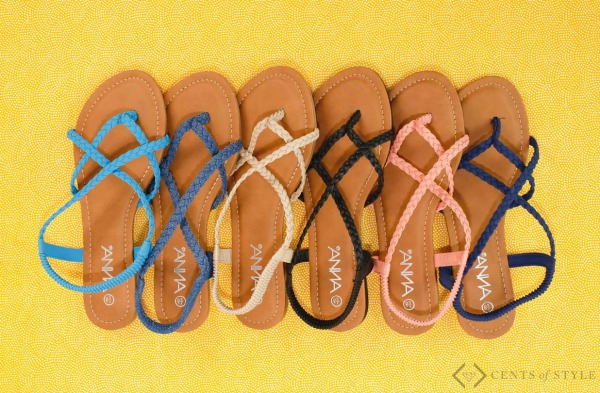 $14.95 Sandals + Earring Deal
