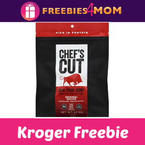 Free Chef's Cut Real Steak Jerky at Kroger