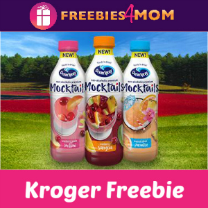 Free Ocean Spray Mocktails Juice at Kroger