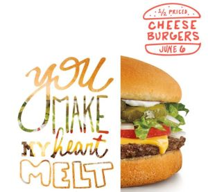 1/2 Price Cheeseburgers at Sonic June 6