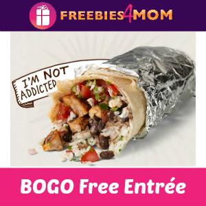BOGO Free Chipotle Entrée
