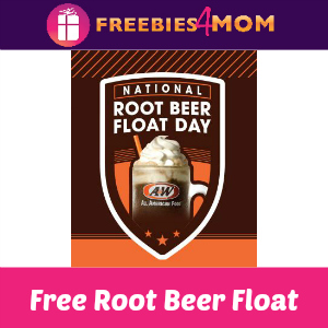 Free Small Root Beer Float at A&W Aug. 6