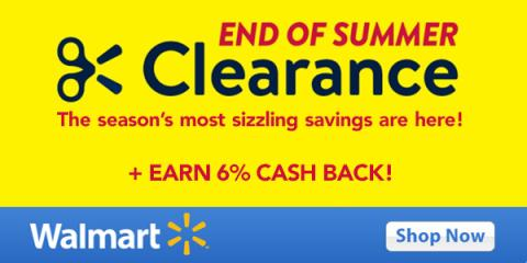 Summer Clearance at Walmart *Today Only*