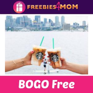BOGO Free Macchiato at Starbucks