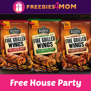 Free House Party: Cooked Perfect Grilled Wings