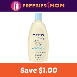 Coupon: Save $1.00 off any AVEENO Baby Product
