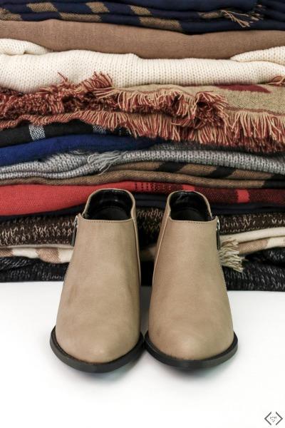 Boot & Scarf or Kimono $29.95-$34.95