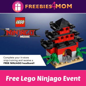 Free Lego Ninjago Movie Event at Toys R Us