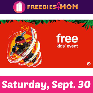 Free Lego Ninjago Movie Event at Target