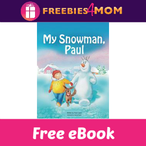 Free Children's eBook: My Snowman, Paul