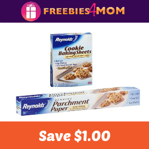 Save on Reynolds Parchment Paper or Baking Sheets